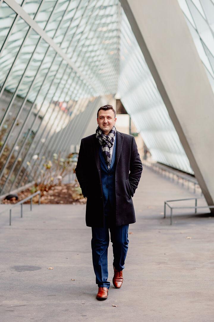 Pavel Mantchev,  in Seattle, Windermere