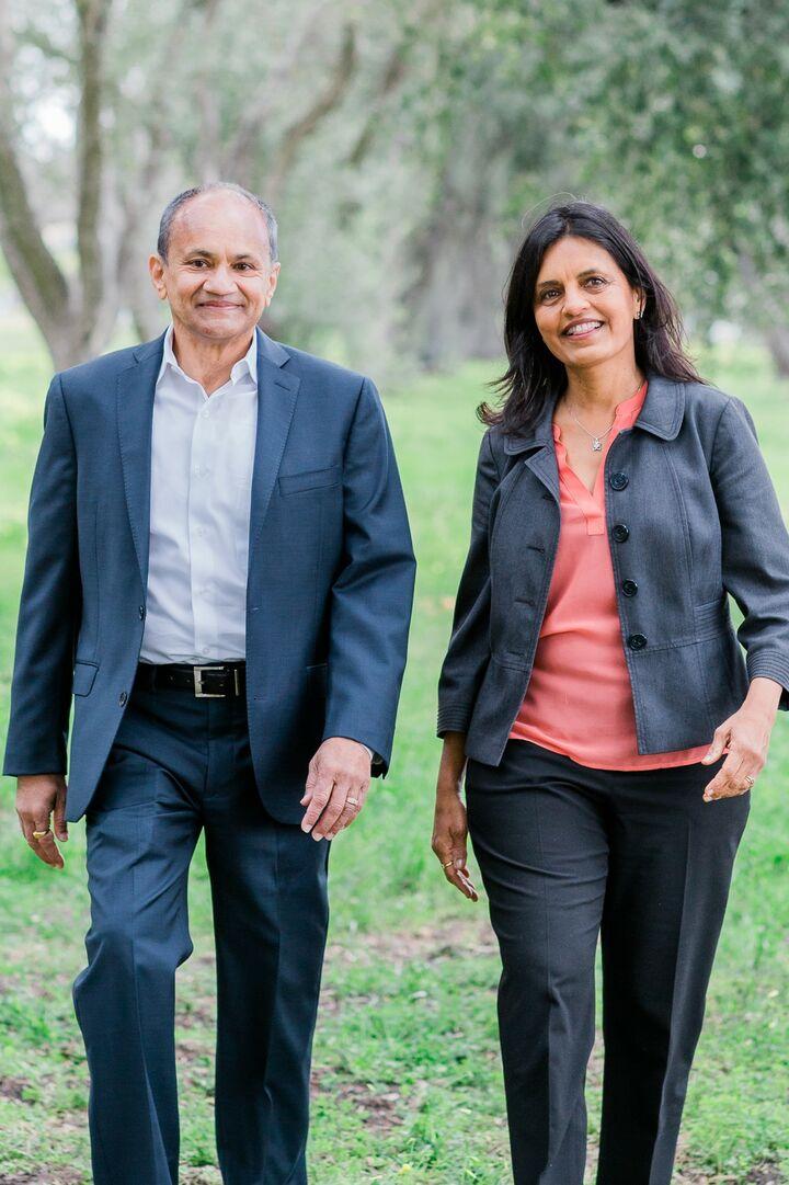 Prerana and Hiren Saraiya